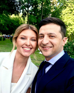 Нова перша леді Олена Зеленська завела Instagram