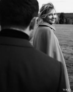 Перше інтерв'ю Олени Зеленської для українського Vogue (Фото)