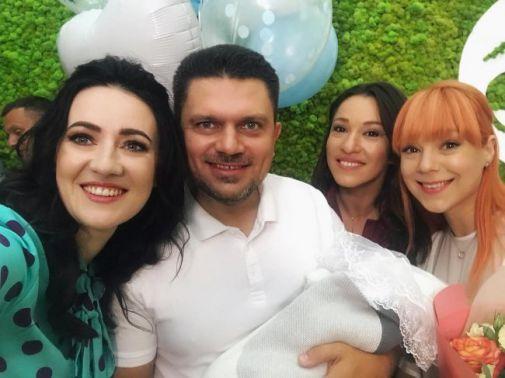 Світлана Тарабарова вперше показала новонародженого сина Івана (Фото)