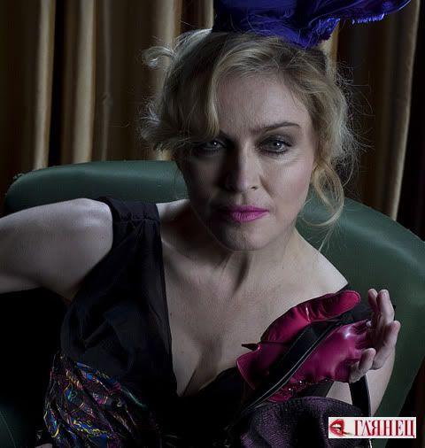 Мадонна для реклами Louis Vuitton